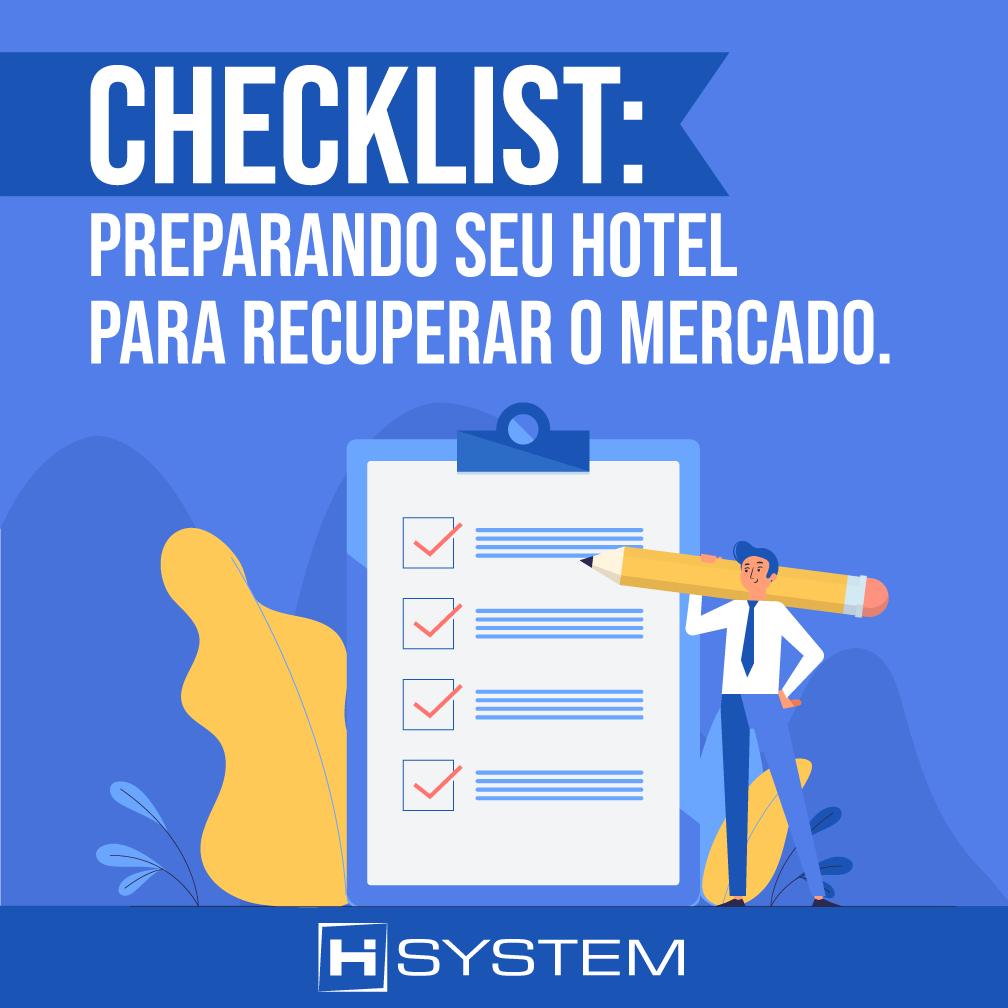 Checklist: preparando seu hotel para recuperar o mercado