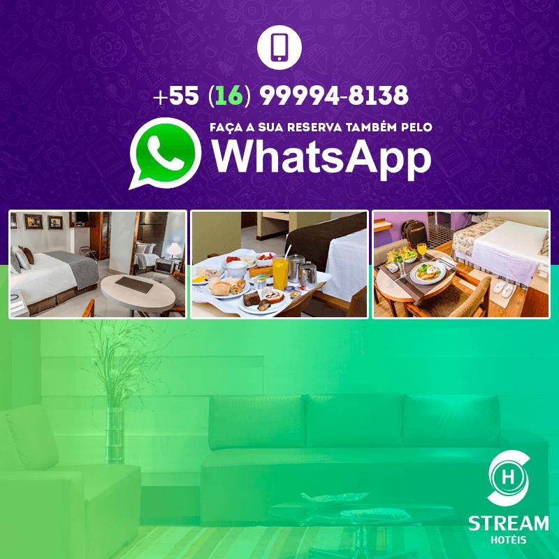 Reservas pelo WhatsApp