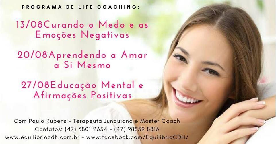 Seminário de cura e transformação pessoal