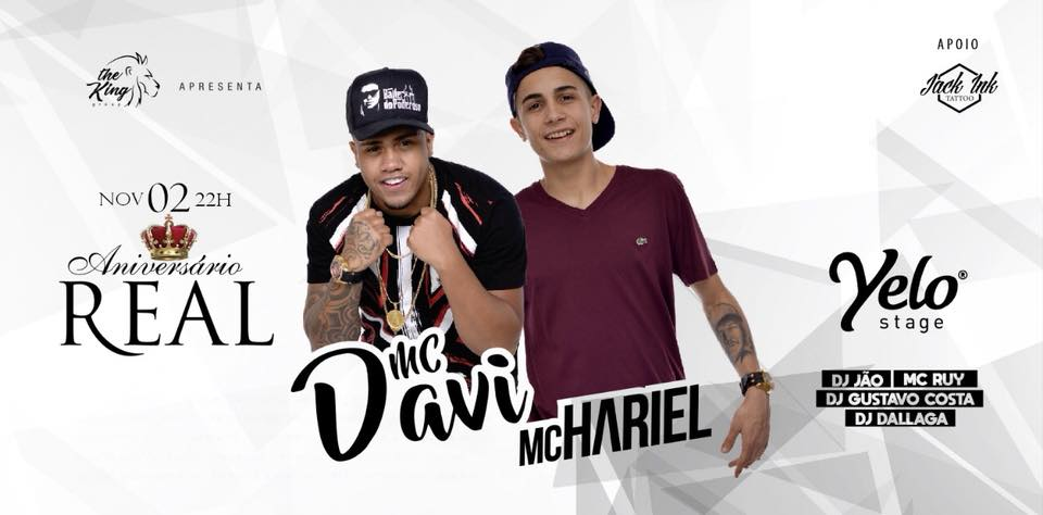 ♛ Aniversário Real ♛ MC Davi & MC Hariel em Joinville