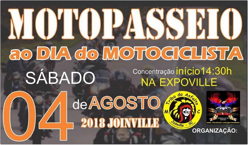 Motopasseio ao Dia do Motociclista