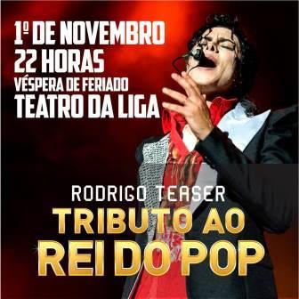 O REI DO POP - Rodrigo Teaser