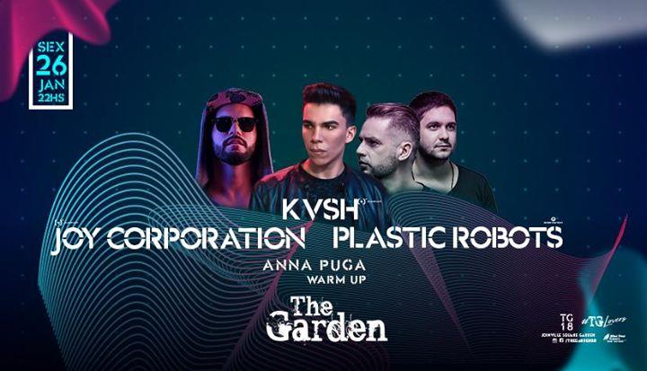 The Garden Plastic Robots