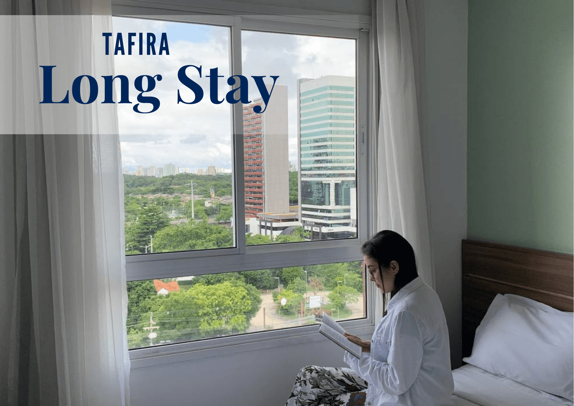 TARIFA LONG STAY COM LAVAGEM DE ROUPA INCLUSA