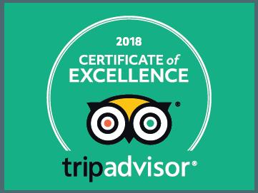 Prêmio de excelência do maior site de viagens e avaliações do mundo