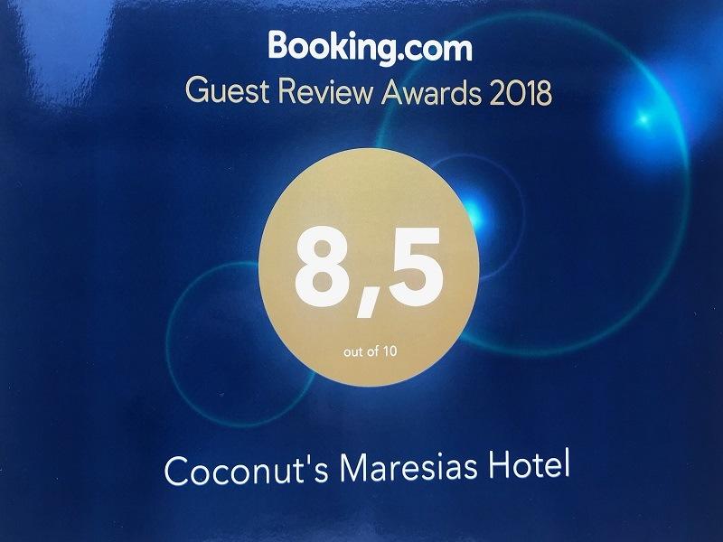Nossa pontuação no Booking.com