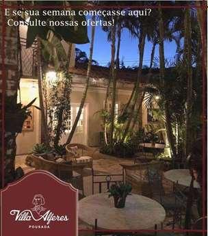 Hospede-se com o carinho da Pousada Villa Alferes em Tiradentes - MG