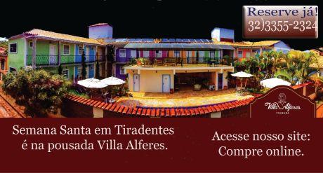 Pousada Villa Alferes com desconto especial!