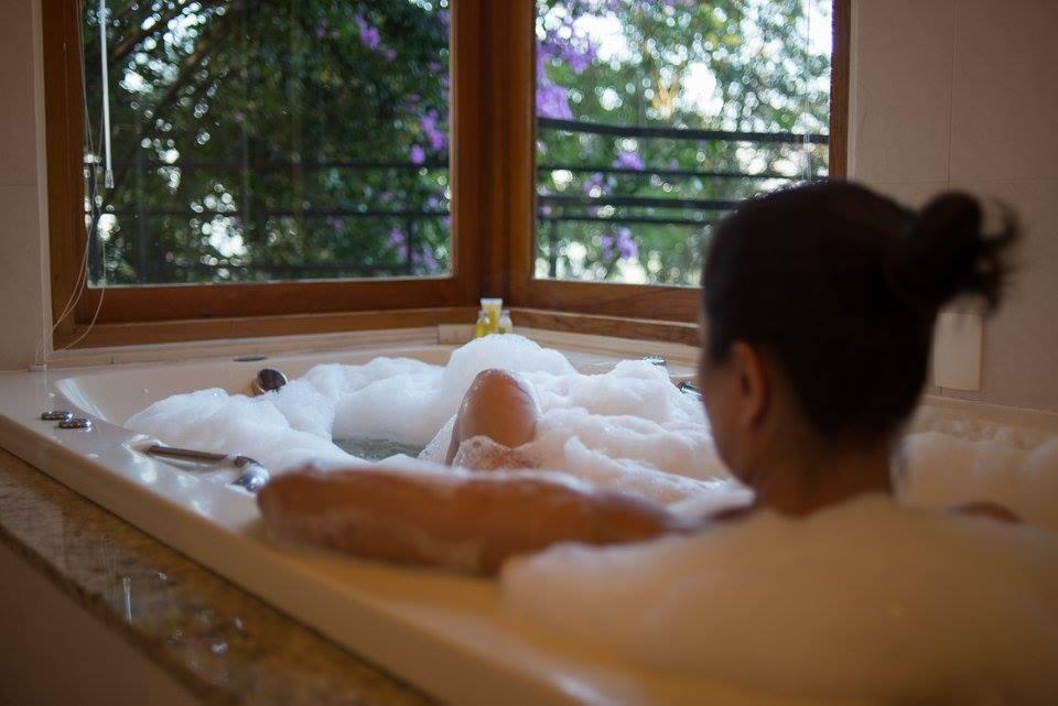 Banheiras de hidromassagem para relaxar o corpo, a mente e o espírito