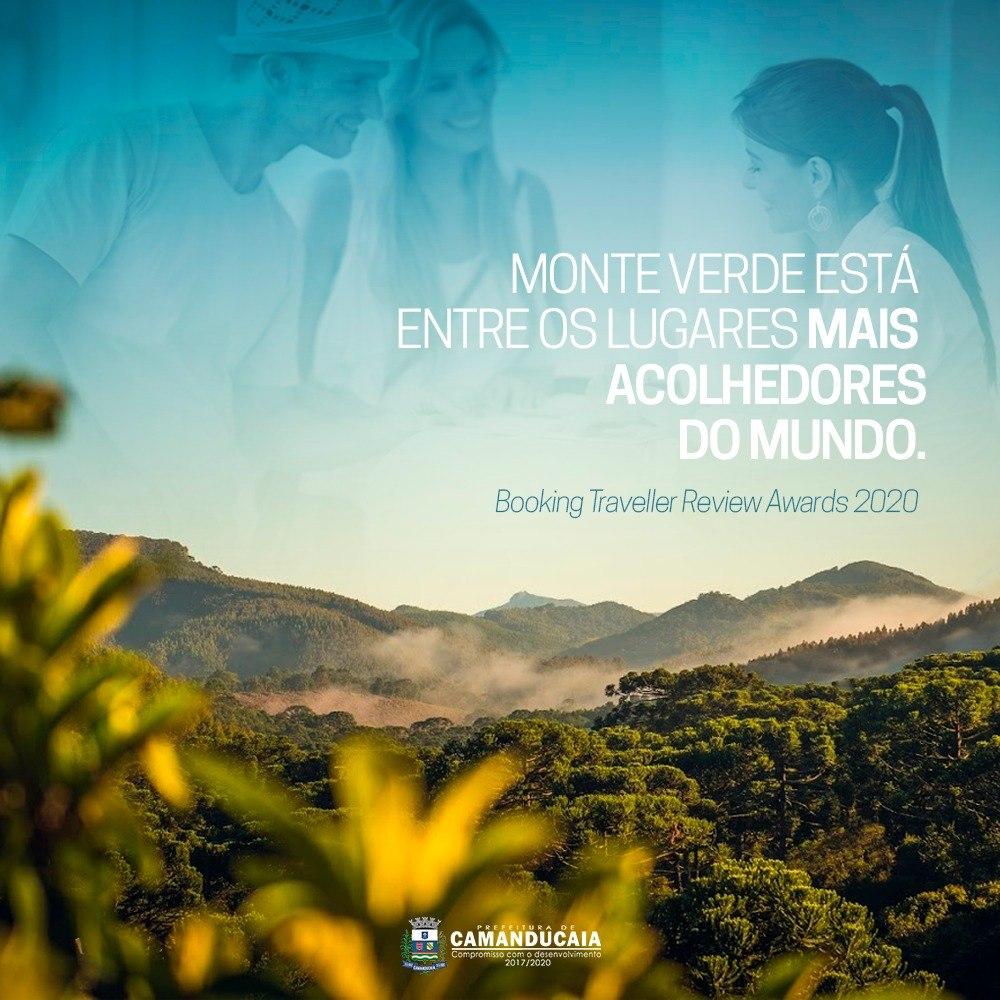 Monte Verde entre os 10 melhores do Booking Traveller Review Awards 2020!