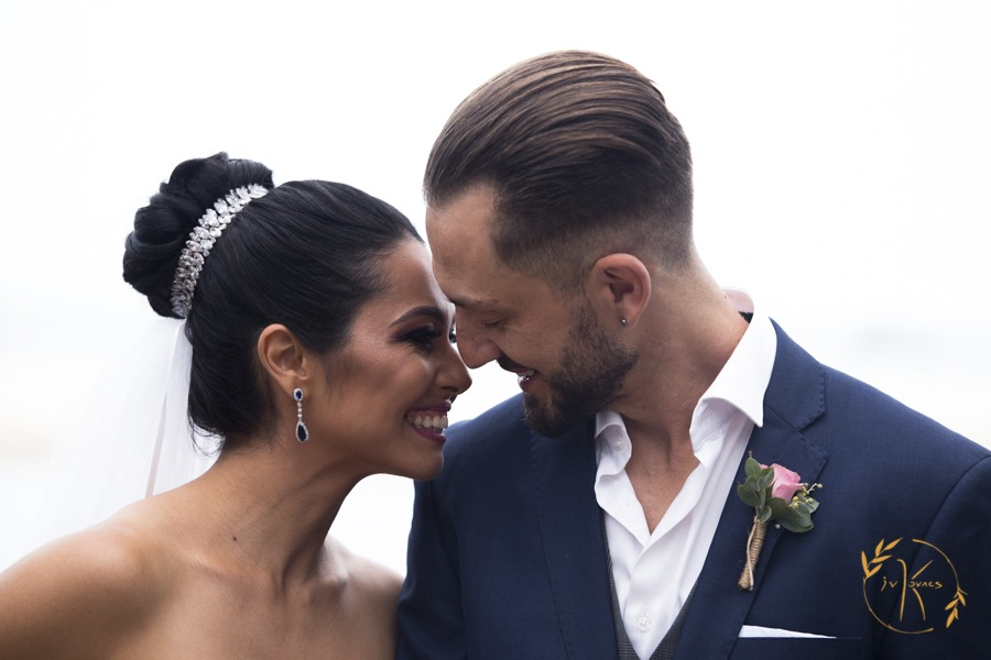 Cativante casamento durante o inverno nos Hotéis Costa Norte