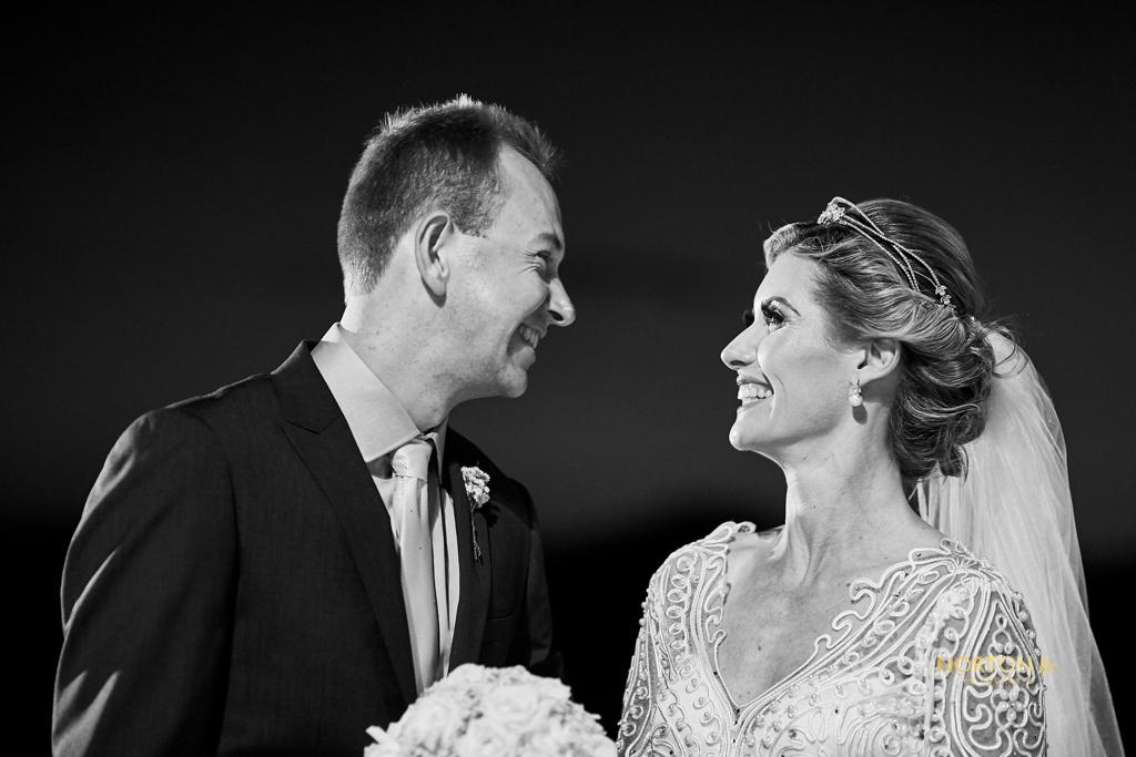 Casamento encantador e cheio de personalidade no Hotel Costa Norte