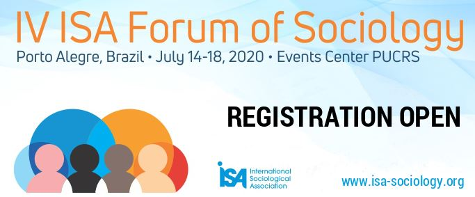 IV ISA FORUM OF SOCIOLOGY 2020